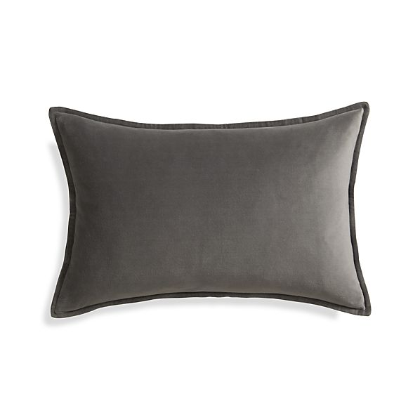 "Buckley Mink 24""x16"" Pillow with Feather-Down Insert"