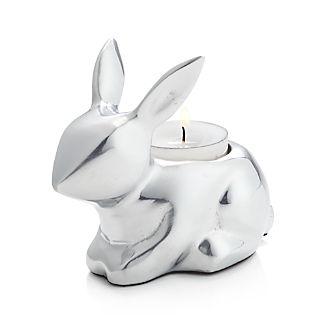Bunny Aluminum Tea Light Candle Holder