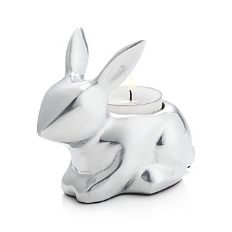 Bunny Aluminum Tea Light Candle Holder