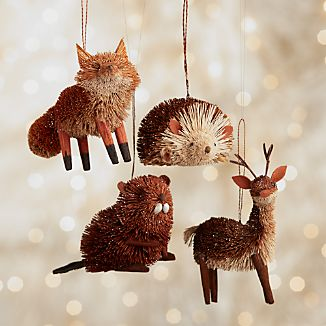Buri Forest Animal Ornaments