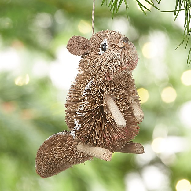 Buri Chipmunk Christmas Ornament
