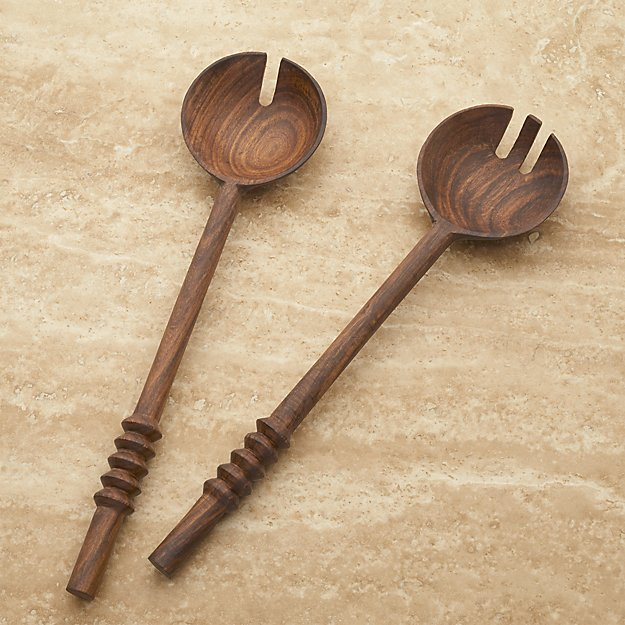 Set of 2 Burke Salad Servers