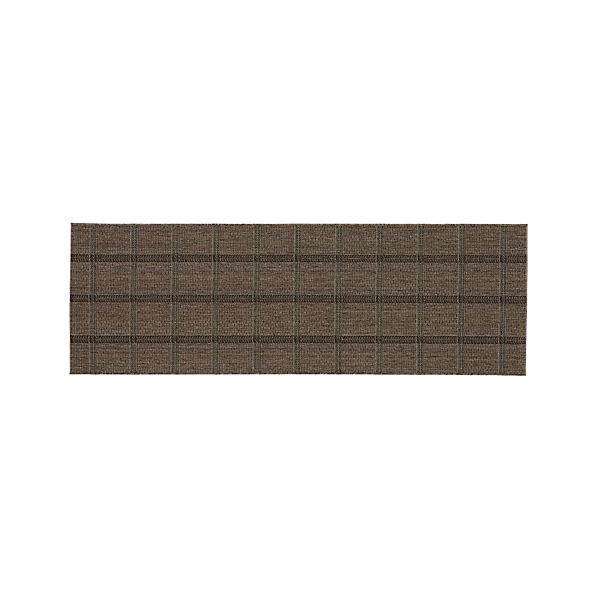 Butler Grid Indoor-Outdoor 2.5'x8' Rug Runner