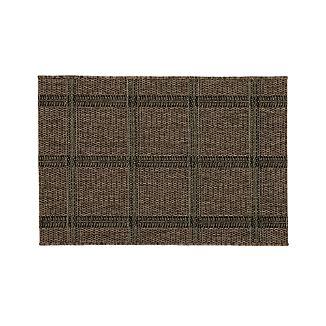 Butler Grid Indoor-Outdoor 2'x3' Rug