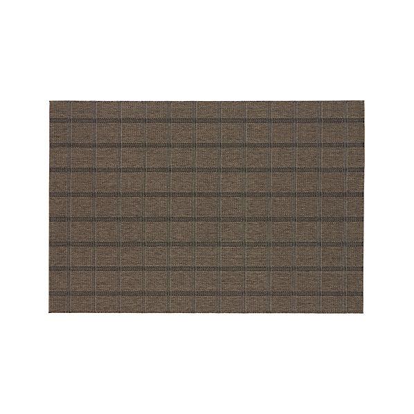 Butler Grid Indoor-Outdoor 6'x9' Rug