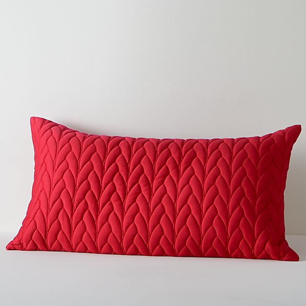 Red Cable King Sham