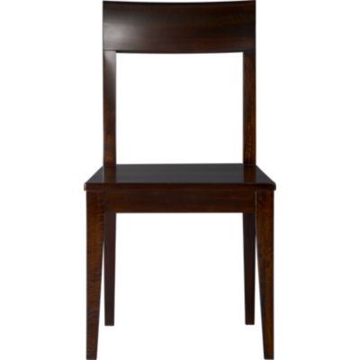 Cabria Dark Wood Side Chair