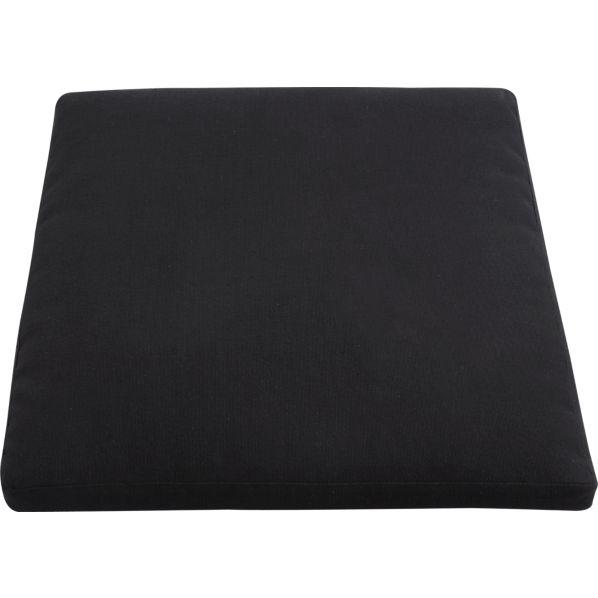 Cabria Black Woven Arm Chair Cushion