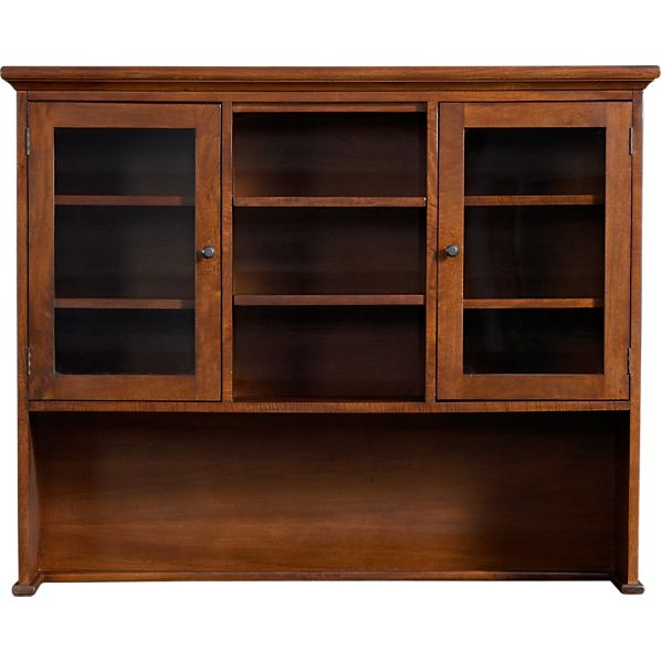 Cabria II Honey Brown Hutch Top