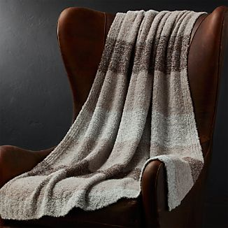 Cadeau Striped Wool Blend Throw