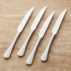 Set of 4 Caesna Mirror Steak Knives