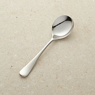 Caesna Mirror Round Soup Spoon