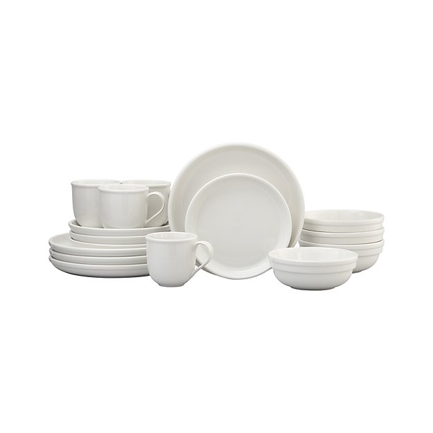 Cafeware II 16-Piece Dinnerware Set