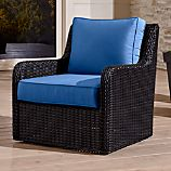 Calistoga Swivel Lounge Chair with Sunbrella ® Cushion