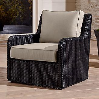 Calistoga Swivel Lounge Chair with Sunbrella ® Cushion