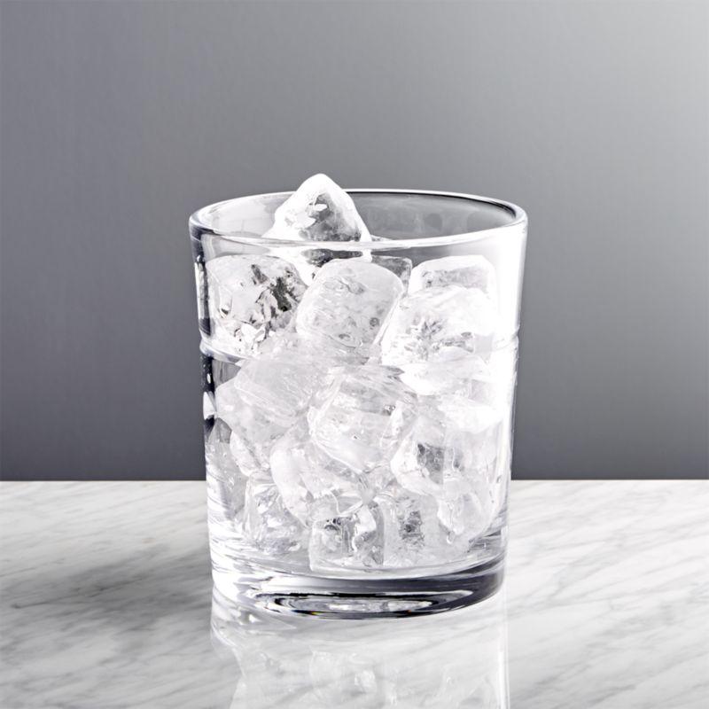 Outdoor Wedding Bar Ideas: Callaway Glass Ice Bucket