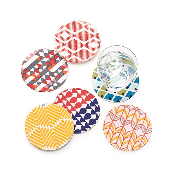 Set of 6 Calliope Coasters