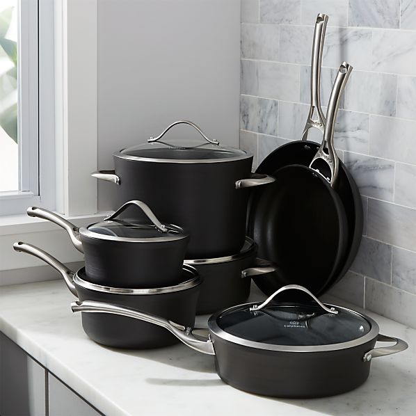 Calphalon Contemporary ™ Non-Stick 12-Piece Cookware with Double Bonus