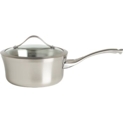 Calphalon® Contemporary Stainless 2.5 qt. Saucepan with Lid