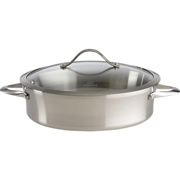 Calphalon ® Contemporary Stainless Steel Sauteuse Pan
