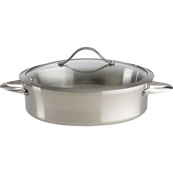 Calphalon ® Contemporary Stainless Steel Sauteuse Pan