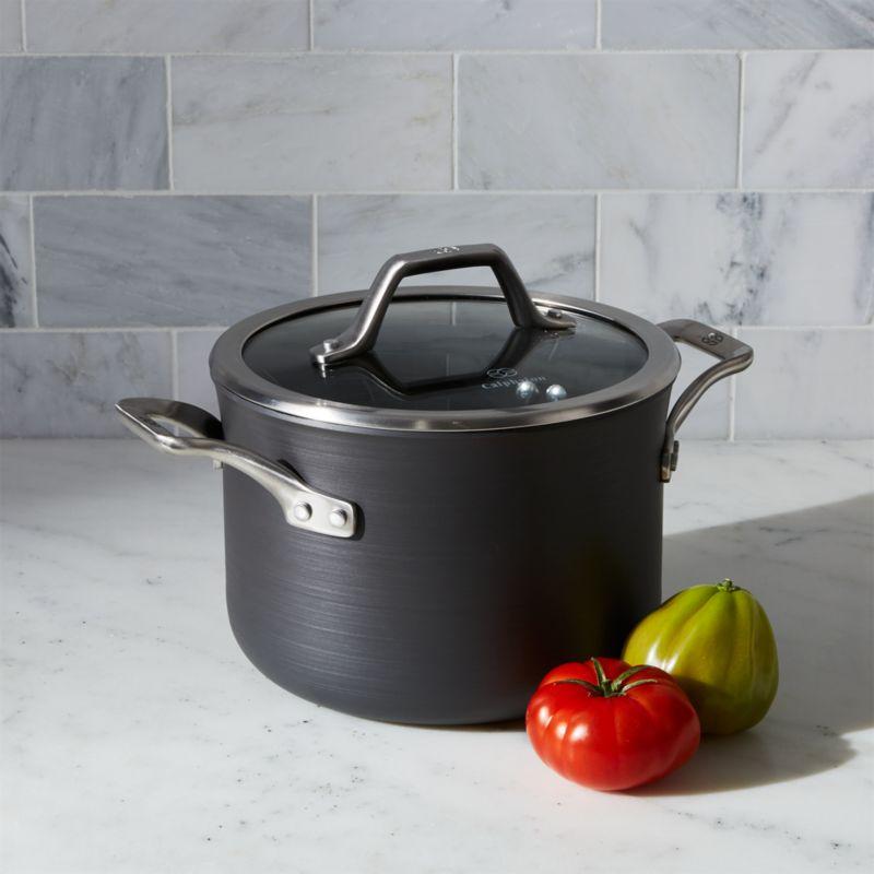 Calphalon Signature Non-Stick 4-qt. Soup Pot with Lid