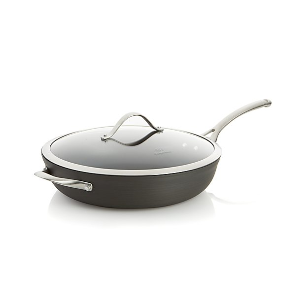 "Calphalon Contemporary ™ Non-Stick 13"" Deep Skillet with Lid"