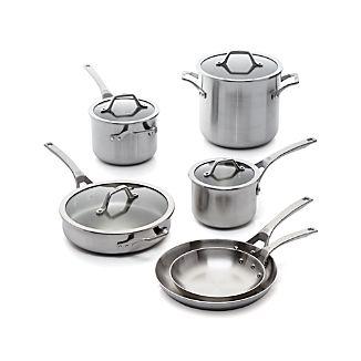Calphalon ® Signature Stainless Steel 10-Piece Cookware Set