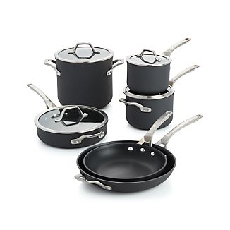 Calphalon Signature Non-stick 10-Piece Cookware Set with Bonus