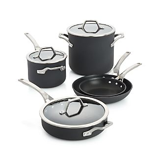 Calphalon Signature Non-Stick 8-Piece Cookware Set with Bonus
