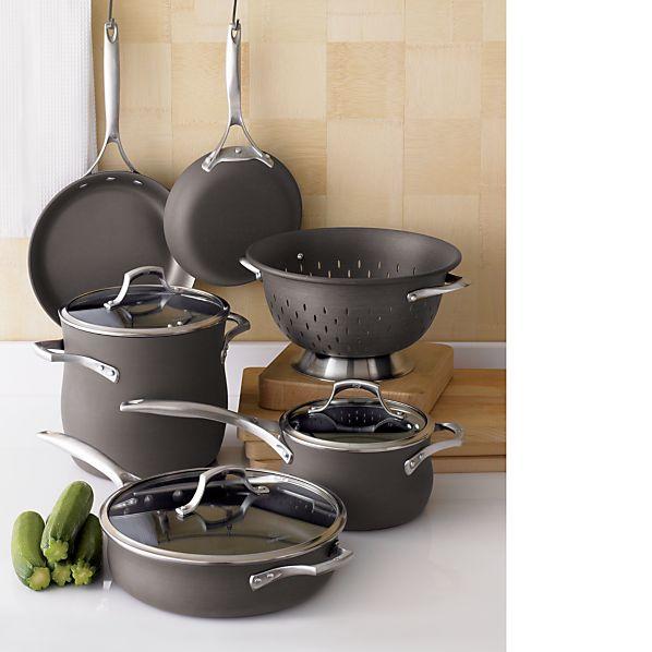 Calphalon Unison ™ Slide & Sear Non-Stick 8-Piece Cookware Set