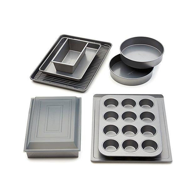 Calphalon 174 10 Piece Nonstick Bakeware Set Crate And Barrel