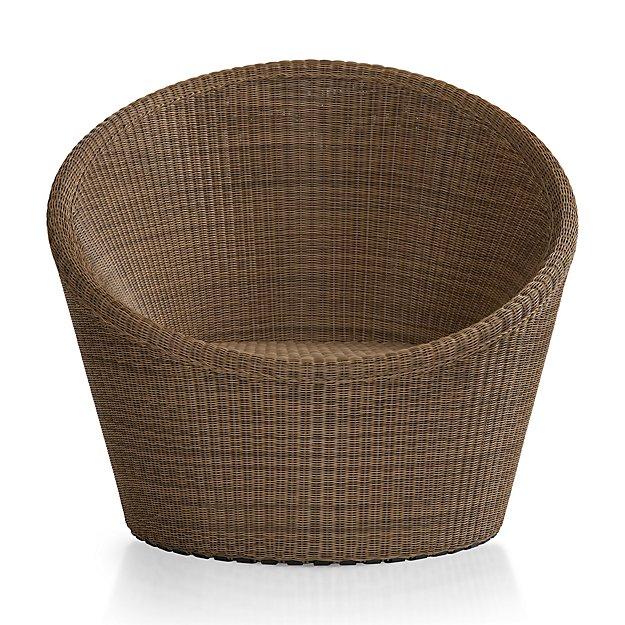 Calypso Mocha Swivel Lounge Chair