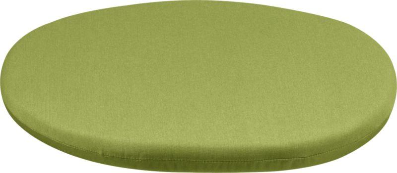 Optional modular corner chair cushion is fade- and mildew-resistant Sunbrella acrylic in kiwi.<br /><ul><li>Fade- and mildew-resistant Sunbrella acrylic</li><li>100% polyfoam fill</li><li>Spot clean</li><li>Made in USA</li></ul><NEWTAG/>