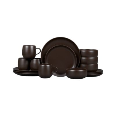 Camden Java 16-Piece Dinnerware Set