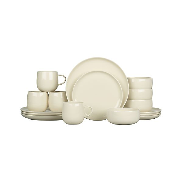Camden Sand 16-Piece Dinnerware Set