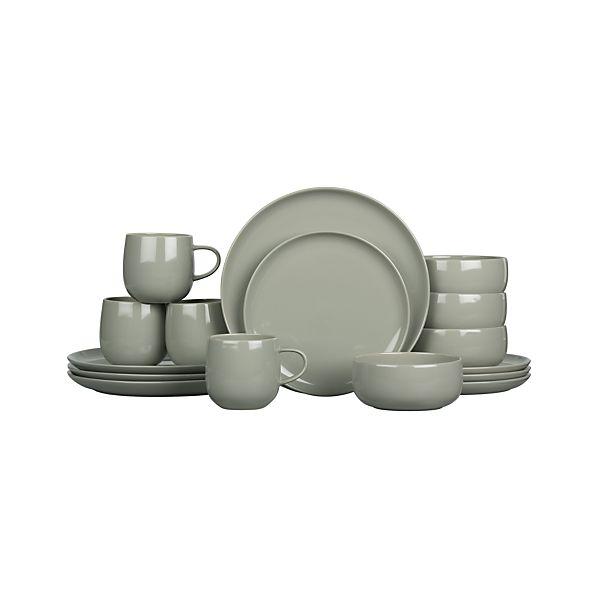Camden Stone 16-Piece Dinnerware Set