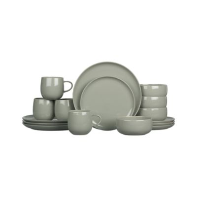 Camden Stone 16-Piece Dinnerware Set