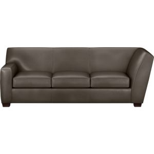 Cameron Leather Sectional Left Arm Corner Sofa