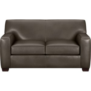 Cameron Leather Loveseat