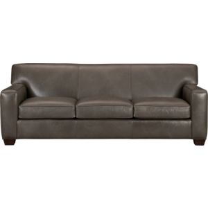Cameron Leather Queen Sleeper Sofa