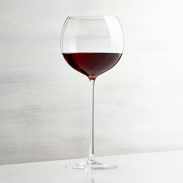 camille 23 oz red wine glass crate and barrel. Black Bedroom Furniture Sets. Home Design Ideas