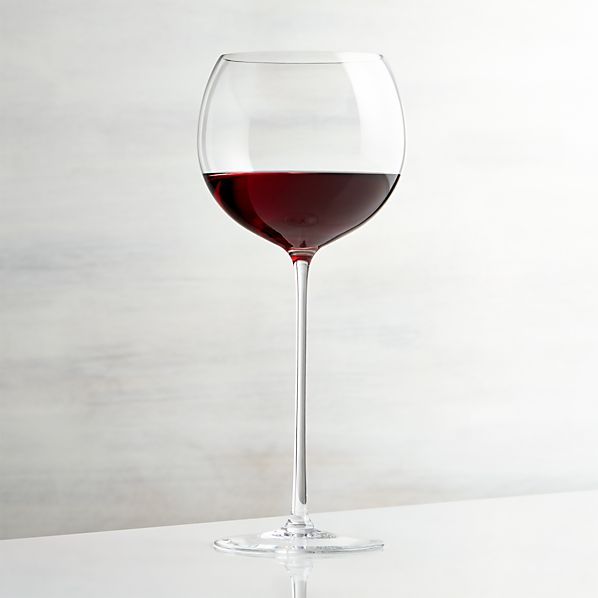 Camille 23 Oz Red Wine Glass Crate And Barrel