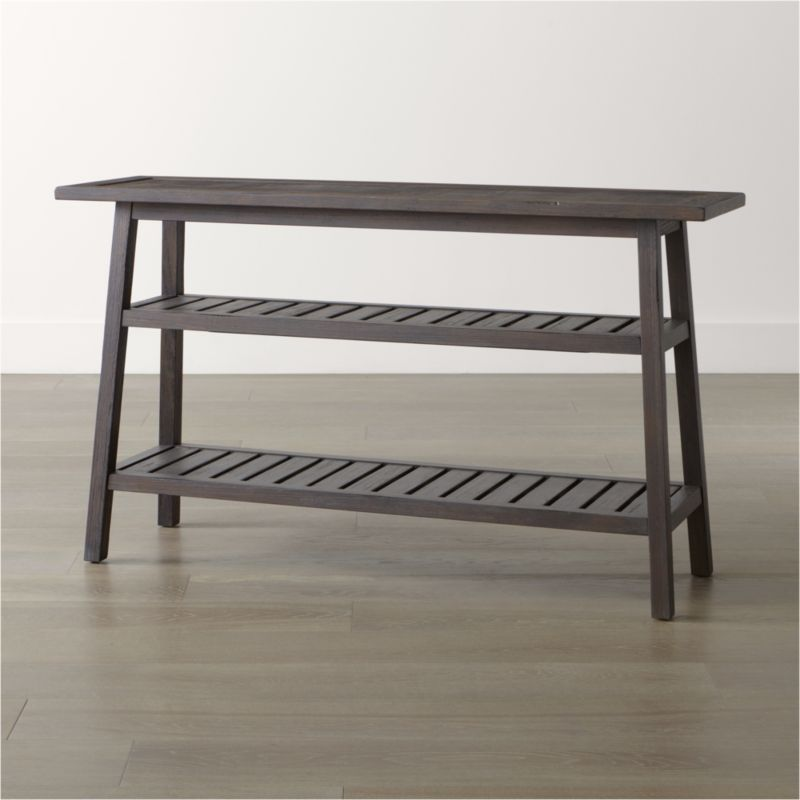 Campton Console Table | Crate and Barrel
