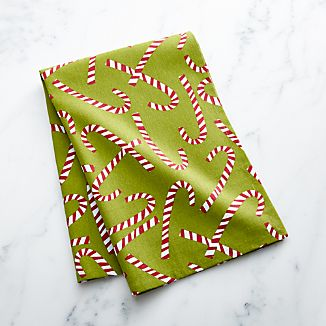 Candy Cane Dish Towel