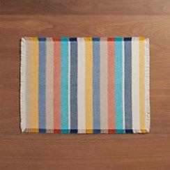 Cantina Multi Stripe Placemat