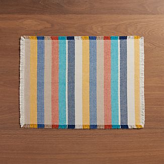 Cantina Multi Stripe Placemat
