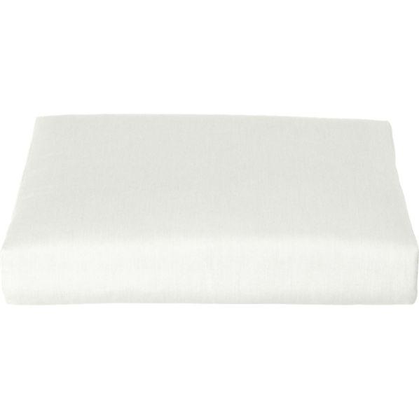 Canyon Sunbrella ® White Sand Ottoman Cushion