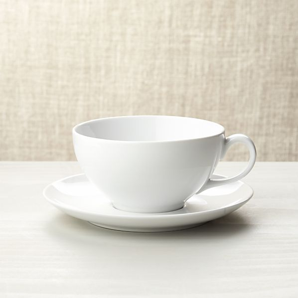 Cappuccino Cup with Saucer