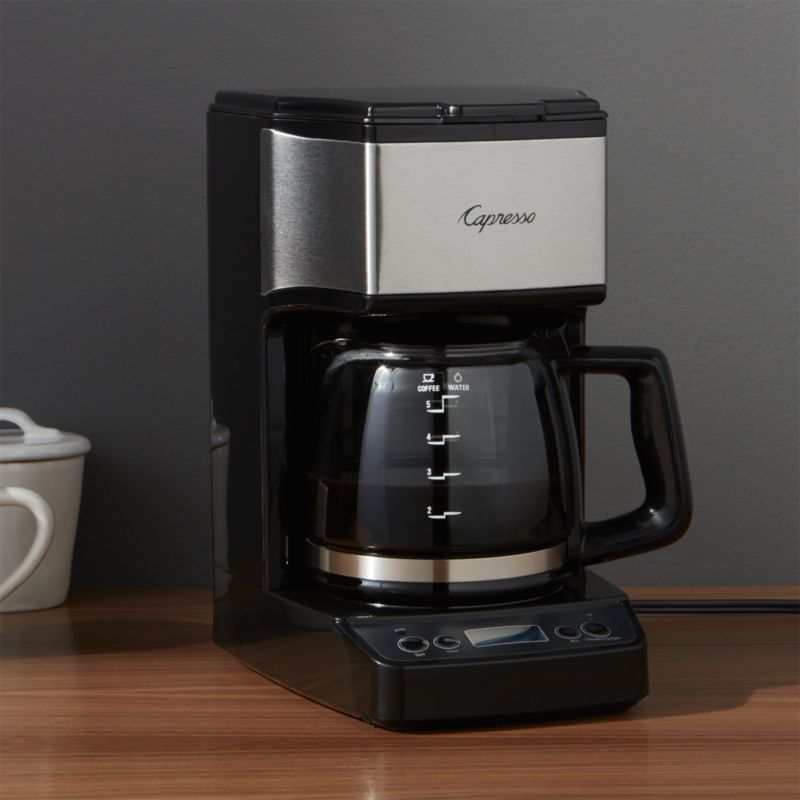 Mini Drip Coffee Maker : Capresso 5 Cup Mini Drip Coffee Maker Crate and Barrel